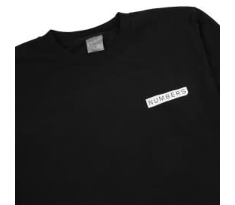 Numbers Logotype T-Shirt black