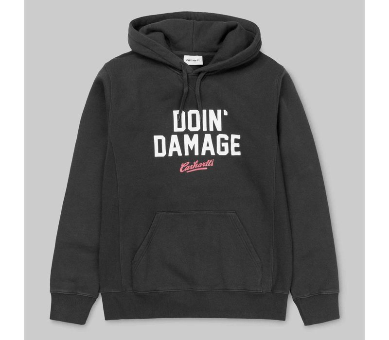 Carhartt Hooded Doing Damage Navy