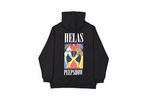 Hélas Helas Peeps Hoodie Black