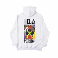 Helas Peeps Hoodie White