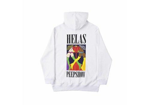 Hélas Helas Peeps Hoodie White