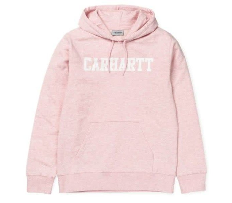 Carhartt Hooded College Sandy Rose Heather/White
