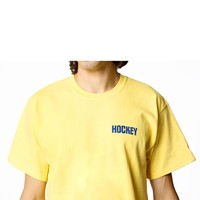 Hockey Not Today Junior Tee Yellow / Blue