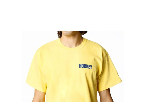 Hockey Hockey Not Today Junior Tee Yellow / Blue