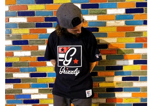 Grizzly Grizzly x Champion Hardwood Classic Tee Black