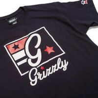 Grizzly x Champion Hardwood Classic Tee Black