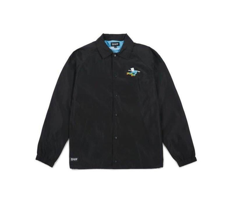 Ripndip Catwabunga Coach Jacket Black