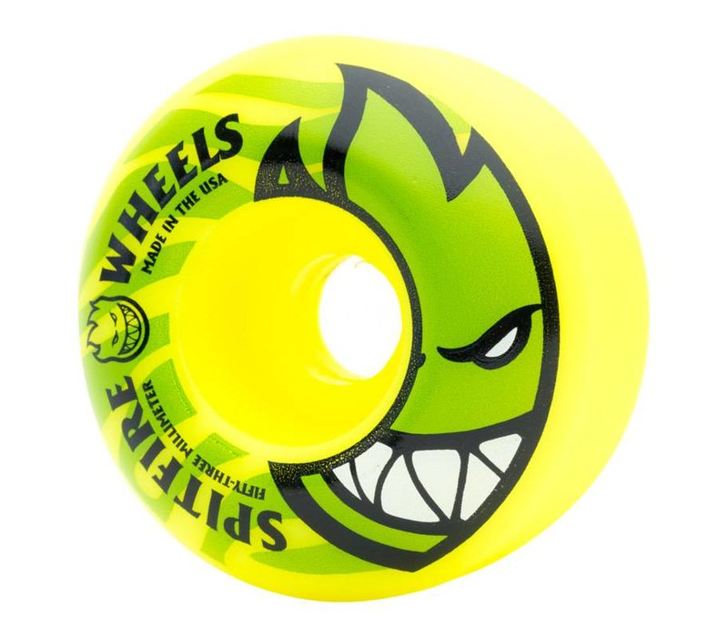 Spitfire BH Electrofire Yellow 53mm
