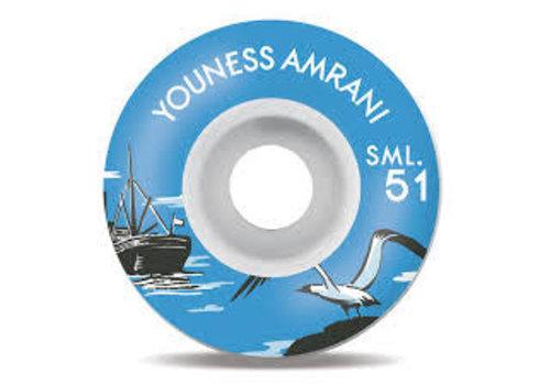 SML Wheels SML Wheels Youness Nautical 51mm