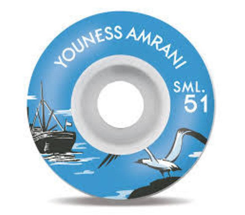 SML Wheels Youness Nautical 51mm
