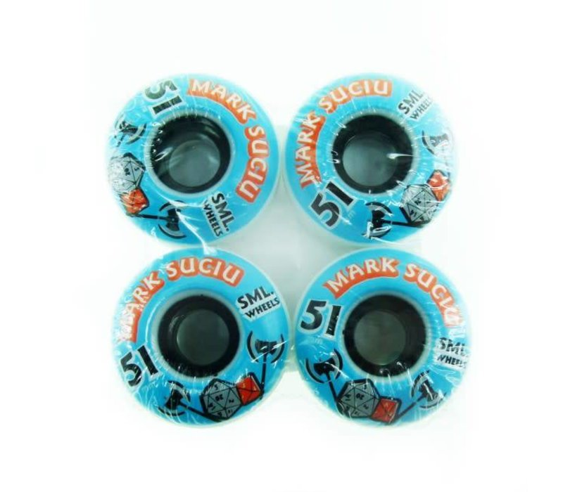 SML Wheels D&D Mark Suciu 51mm