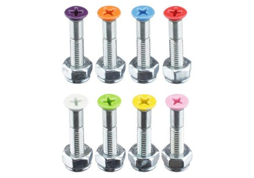 Shorty's Shorty's Color Hardware Surf Pink 1 Inch (8 Bolts)