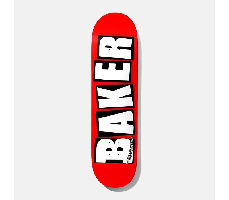 Baker - Brand Logo White 8.25