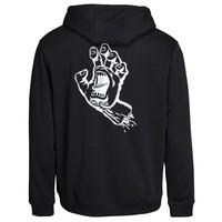Santa Cruz Outline Hand Hood Black