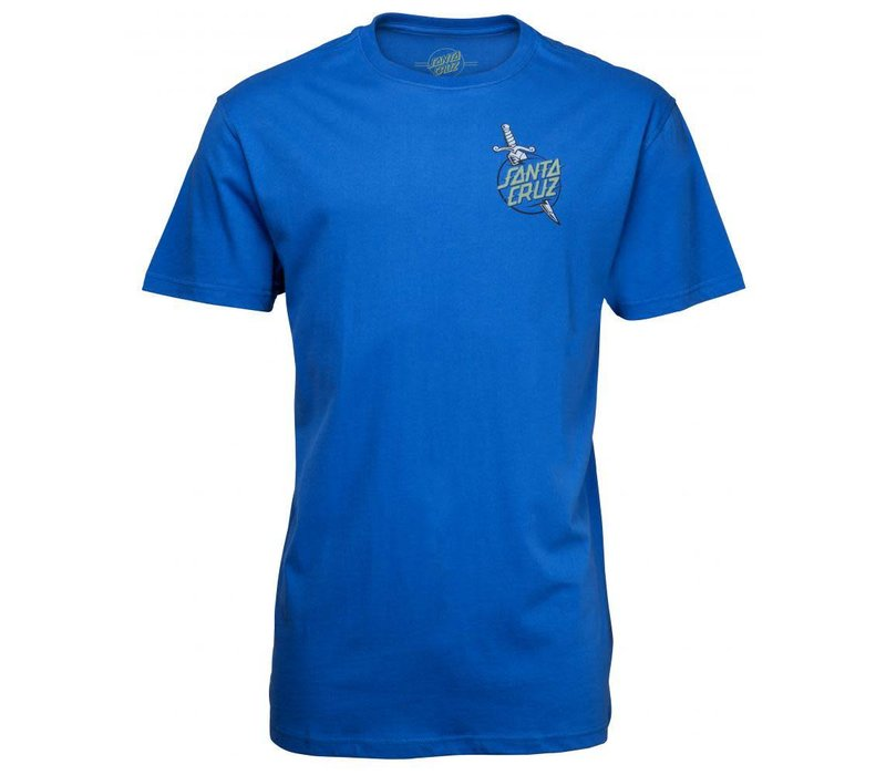 Santa Cruz Tattoo Hand Tee Strong Blue