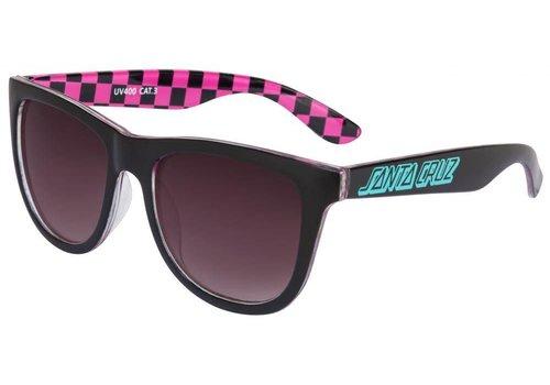 Santa Cruz Santa Cruz Classic Check Sunglasses Black/Pink