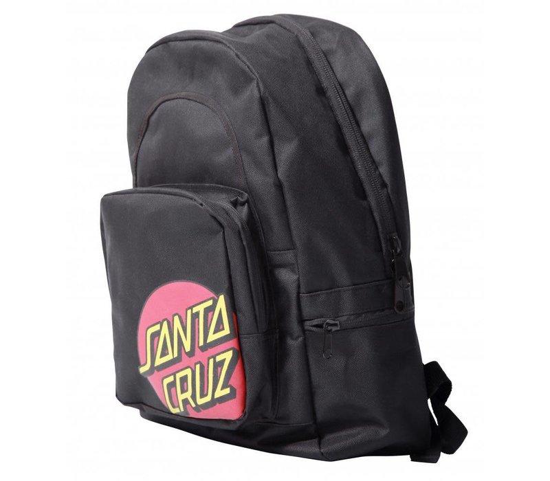Santa Cruz Classic Dot Backpack Black
