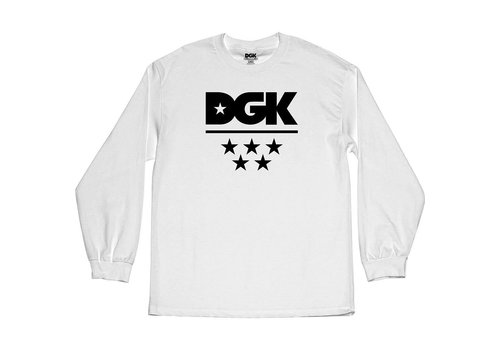 DGK DGK All Star Longsleeve White
