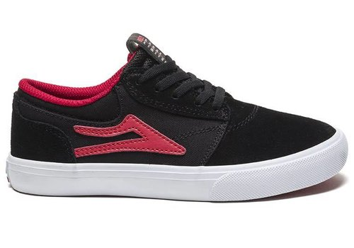 Lakai Lakai Griffin Kids Black/Red Suede