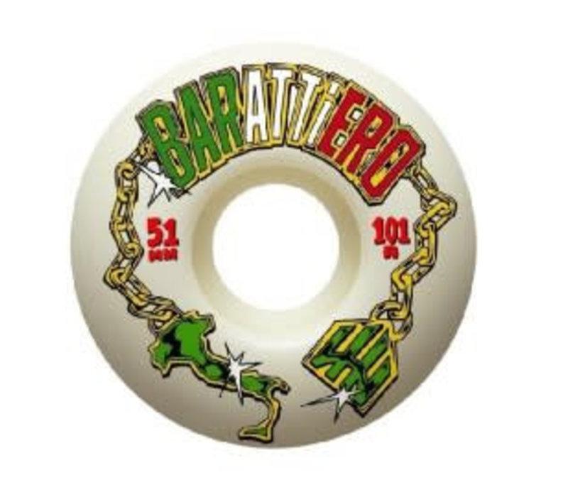Haze Wheels Pro Barattiero 51mm
