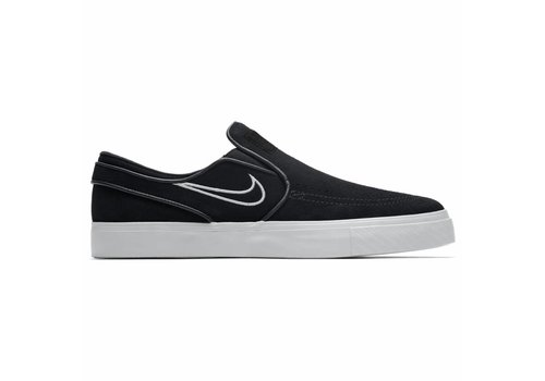 Nike SB Nike Zoom Janoski Slip On Black/Light Bone/White