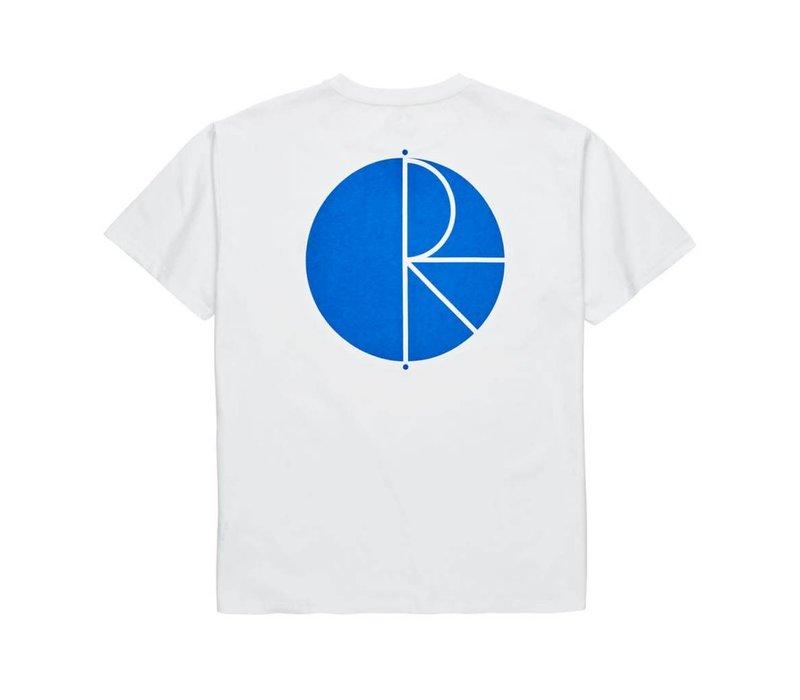 Polar Fill Logo Tee White/Blue
