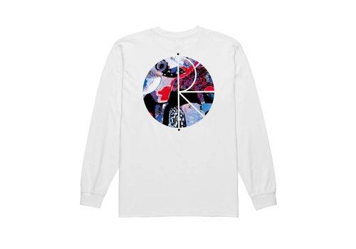 Polar Polar Orchid Fill Logo LS White