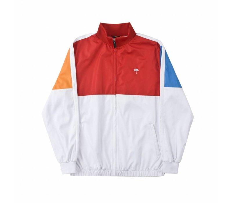 Helas Rush Tracksuit Jacket White