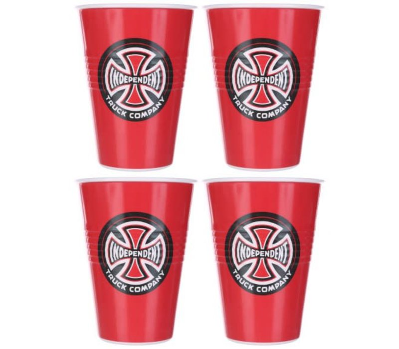 Independent Banner Cup Set (4 Cups)