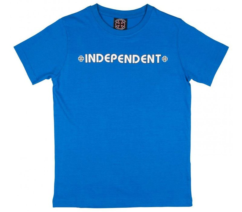 Independent Youth Bar Cross Tee Royal