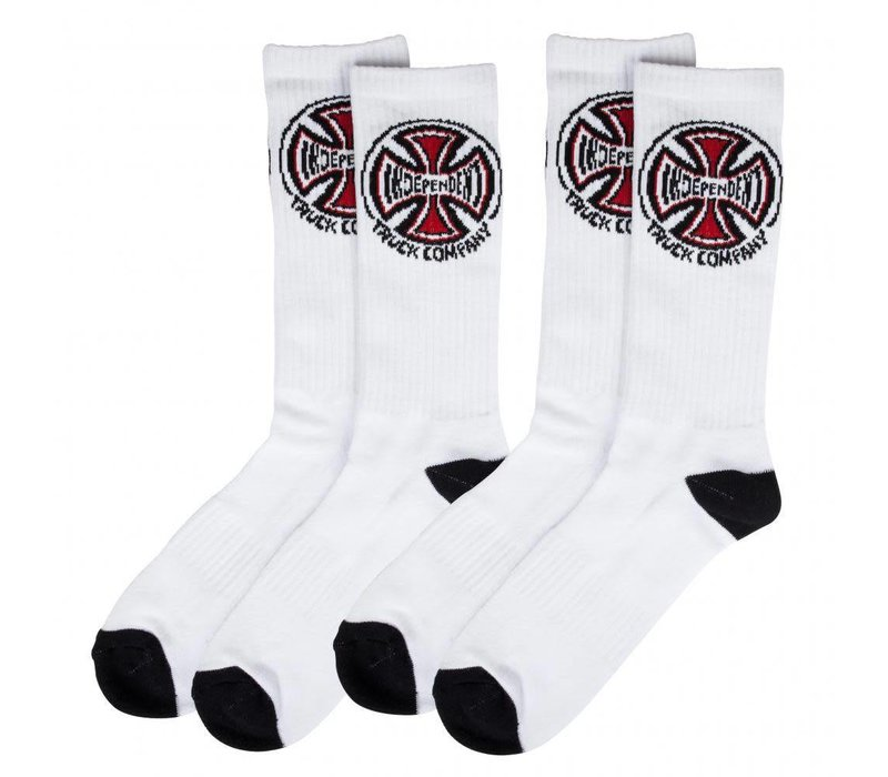 Independent Truck Co. Socks (2-Pair) White