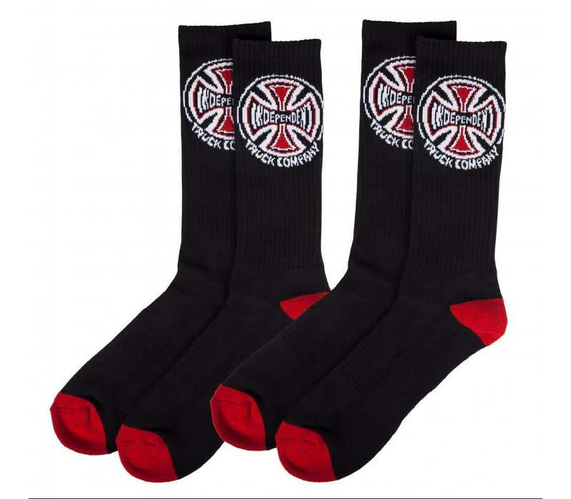 Independent Truck Co. Socks (2-Pair) Black