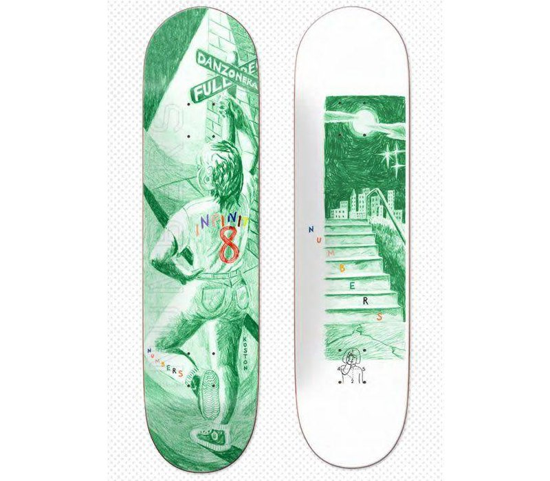 Numbers Koston Edition 4 Deck 8.25