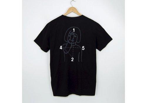 Numbers Numbers 12:45 Angel Tee Black