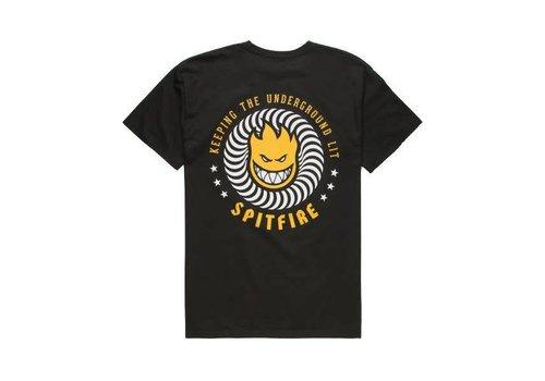 Spitfire Spitfire KTUL Tee Black/Yellow