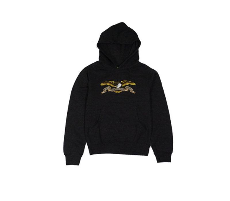 Anti Hero Eagle Youth Hood Black