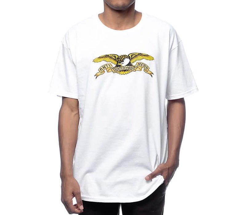 Anti Hero Eagle Tee White
