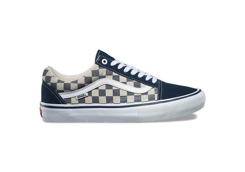 Vans Vans Old Skool Checkerboard Dress Blue