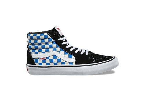 Vans Vans Sk8-HI Pro Checkerboard Black/Vict