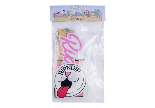 Ripndip Ripndip Stickerpack (10-Pack)