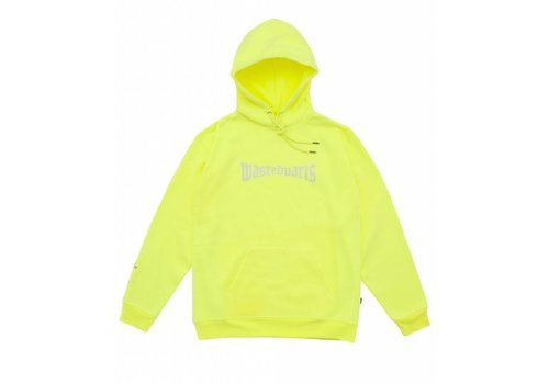 Wasted Paris Wasted London Hoodie Reflective Yellow