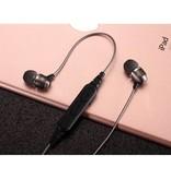 QC60 Bluetooth V4.1 Sport Headset - Zilver