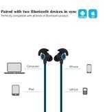 BHT-816 Sport Bluetooth V4.1 In-ear Oordopjes - Blauw