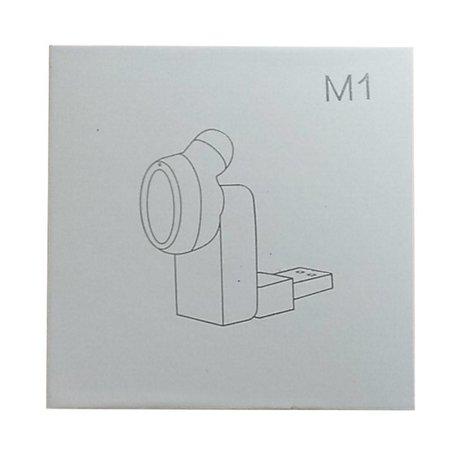 Mini M1 Bluetooth 4.1 Oortje met Oplader - Wit