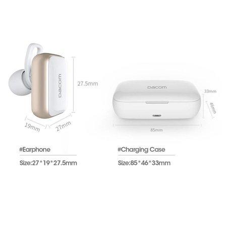 DACOM DACOM Bluetooth 4.2 Headset met 2200 mAh Oplaadstation
