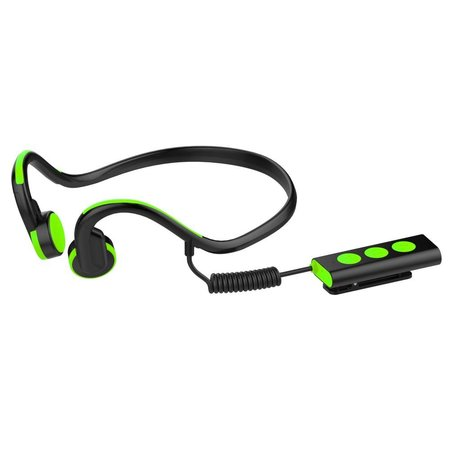 Waterproof Bone Conduction Bluetooth Oortjes - Groen