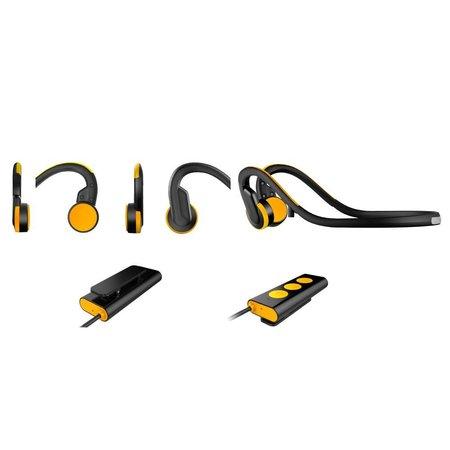 Waterproof Bone Conduction Bluetooth Oortjes - Oranje