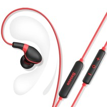 Encok S04 Bluetooth In-ear Oortjes - Rood