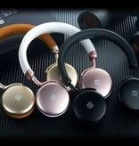 Aluminum CVC 6.0 Noise Reduction Bluetooth Koptelefoon
