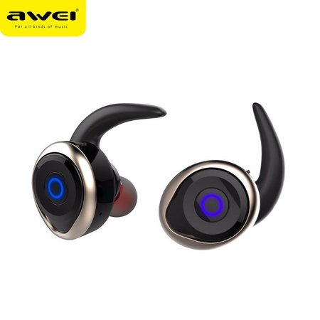 AWEI AWEI T1 Mini True Bluetooth In-ear Oordopjes - Goud
